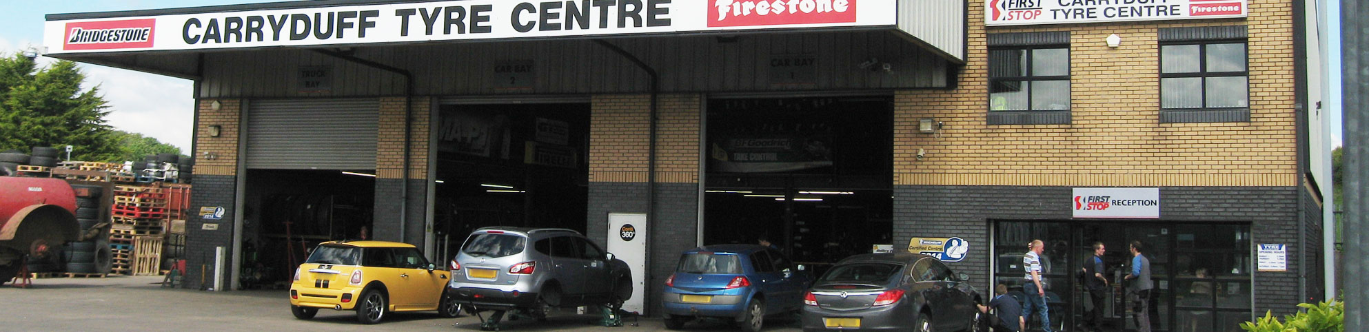 Carryduff Tyre Centre in Carryduff
